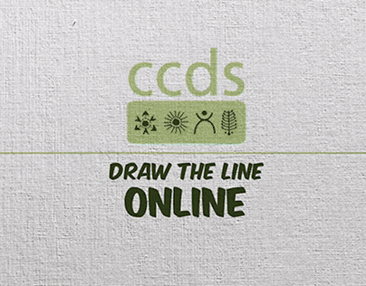 Draw the Line Online, CCDS | Animated GIF Campaign