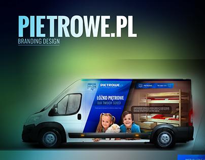 Pietrowe.pl branding design