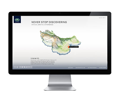 Land Rover Virtual Driving Experience