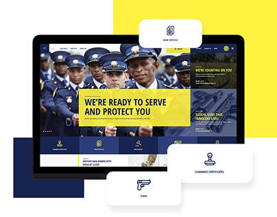 SAPS | Website Redesign Concept