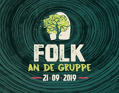 Folk an de Gruppe - 2019 Festival Design