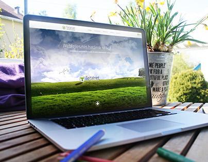 TotalNet website design