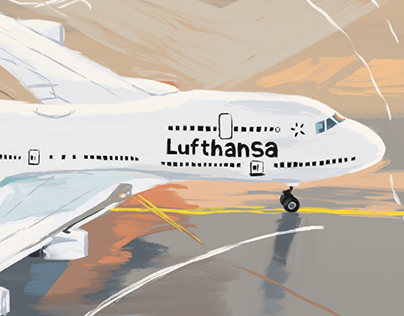 Lufthansa - Photo Study