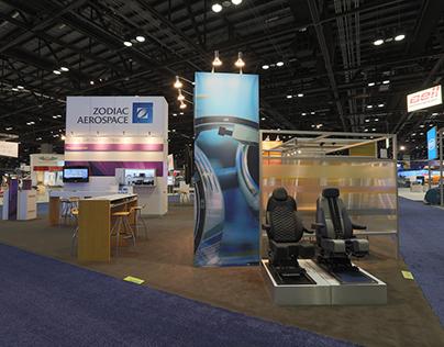 ZODIAC AEROSPACE // Exhibition booth