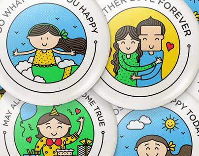 Doodle Badges