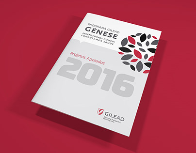 Book for Supported Projects of Gilead Génese 2016
