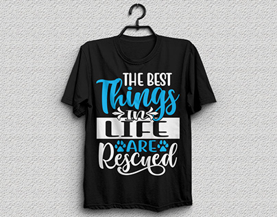 the best things life are rescued