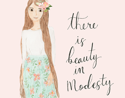 There is Beauty in Modesty