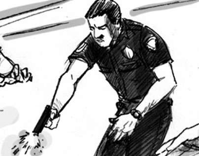DAILY PANEL- In LA, a man was killed by police