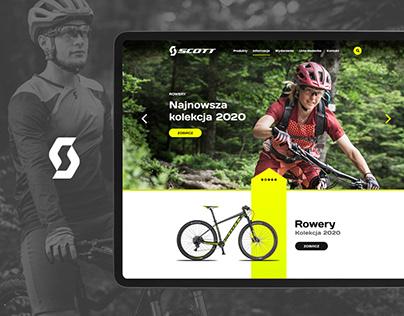 Scott / New look webpage