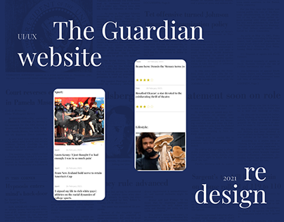 The Guardian | redesign