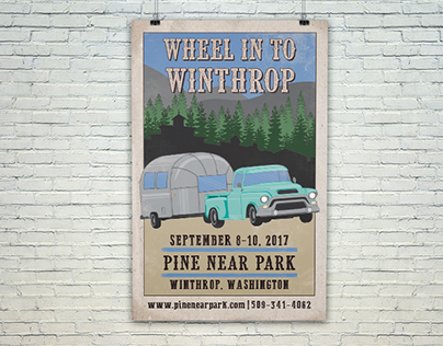 Wheel in to Winthrop Event Poster