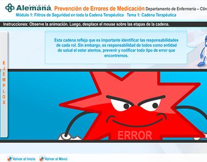 Prevención de Errores de Medicación - Clínica Alemana