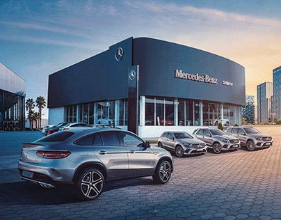 Mercedes-Benz / Nuevo Showroom en Lima