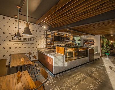 LA MIGUERIA LAURELES / Diseño Restaurante