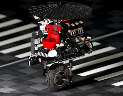 DADA's wheels 童车
