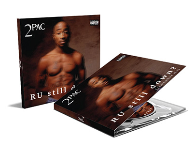 2PAC| Redesign cover album