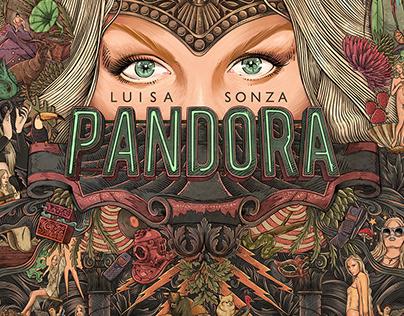 Luisa Sonza - Pandora. Album Cover