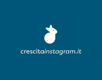 Crescitainstagram - Logo Design