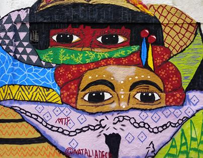 Mulher negra e indígena