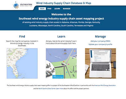 Wind Industry Supply Chain Database & Map