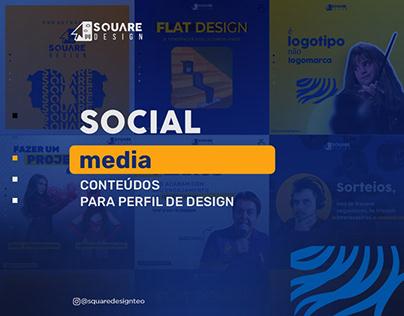 Social Media para Design Gráfico │ Square Design