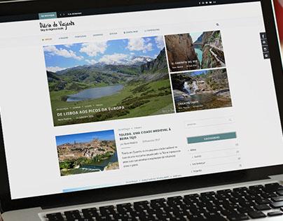 Diário do Viajante Website
