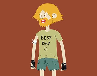 Josh The Last Human - Character Design