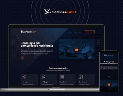 Speedcast | Landingpage
