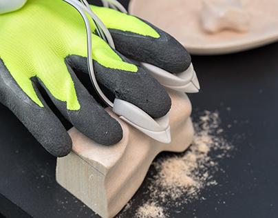HAPPARATUS - 'Power-glove' for sculpture
