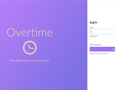 Overtime App Login