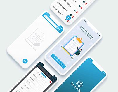SoundQA App Design