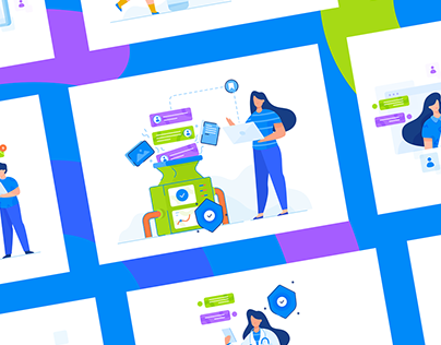 WEB PAGE ILLUSTRATIONS FOR SHARE BOARD