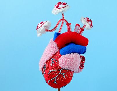 Anatomical Heart (mushrooms)