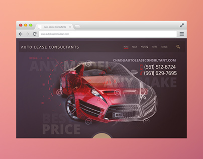 Auto Lease Consultant Web Design And Development