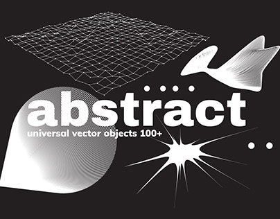 100+ Abstract Vector Shapes