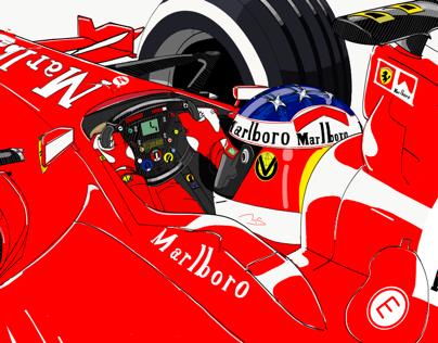 #keepfighting - Michael Schumacher 2000