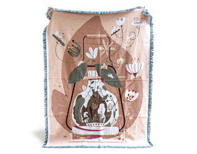 Throw & Co. Woven Blanket