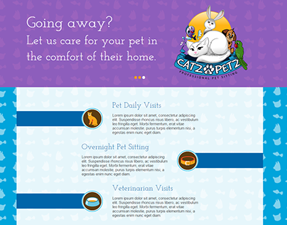 Pet Sitting Business Site - Custom Web Design