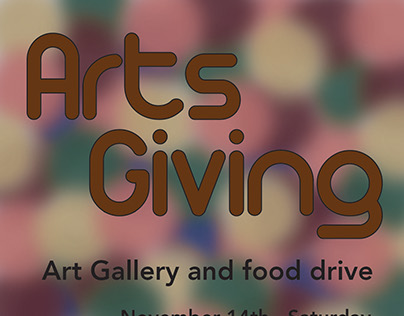 Arts Giving Flyer