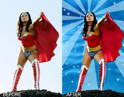 Wonder Woman Conversion - Digital Art