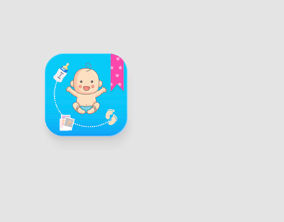 Baby journal - app icon