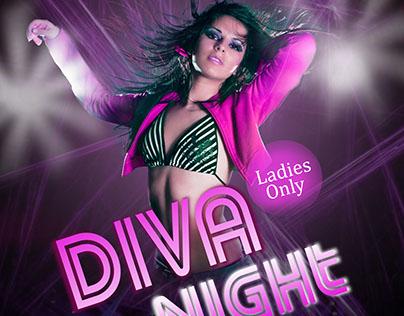Diva Night Poster