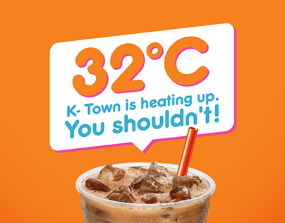 Dunkin Donut - Iced Coffee Campaign