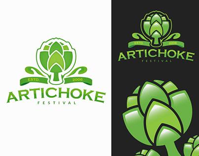 Artichoke Festival — Logo Design