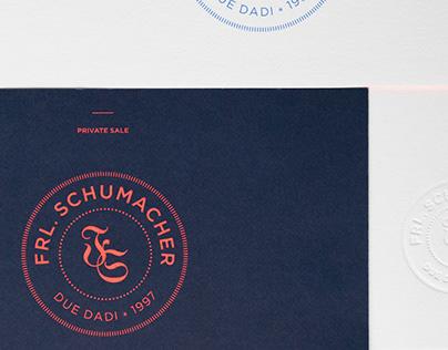 Branding Frl. Schumacher concept store
