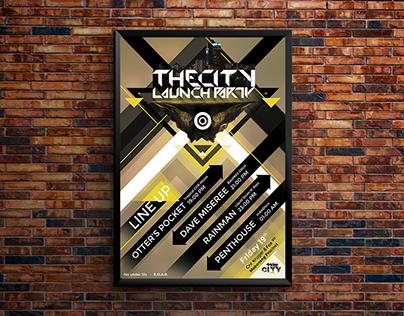 TheCityMaboneng _ Launch Party ArtWork)