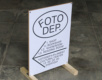 Fotodepartament Graphic Identity