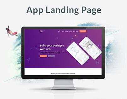 Jira - App Landing Page