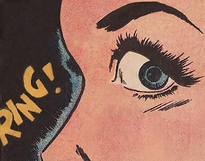 Animated Vintage Comics gifs